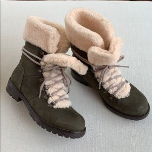 NWT UGG Fraser Shearling Lined Boot